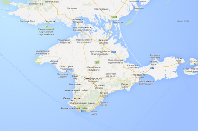 Google Maps Ucraina