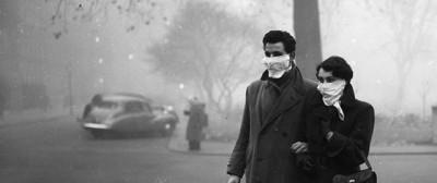 Lo smog di una volta, a Londra