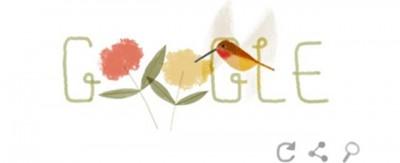 Il colibrì rosso e gli altri doodle di Google per la Giornata della Terra
