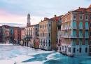 Come sarebbe Venezia ghiacciata