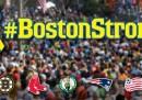Il tweet delle squadre di Boston per commemorare la maratona del 2013