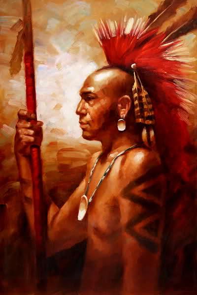 """La cresta che in italiano chiamiamo """"moicana"""", in realtà è mohawk. I moicani erano loro nemici e avevano i capelli lunghi."""