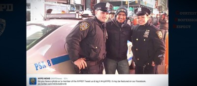 Il guaio con Twitter della polizia di New York