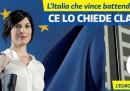 La campagna del PD per le Europee