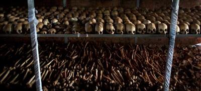 Gli ossari del Ruanda