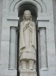 Facciata della basilica di Sainte-Anne-de-Beaupré, dalle parti di Quebec City.