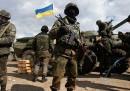 Gli sgomberi nell'Ucraina orientale