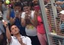 La partita a paddle di Totti al Foro Italico