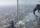 Il balcone di vetro crepato della Willis Tower