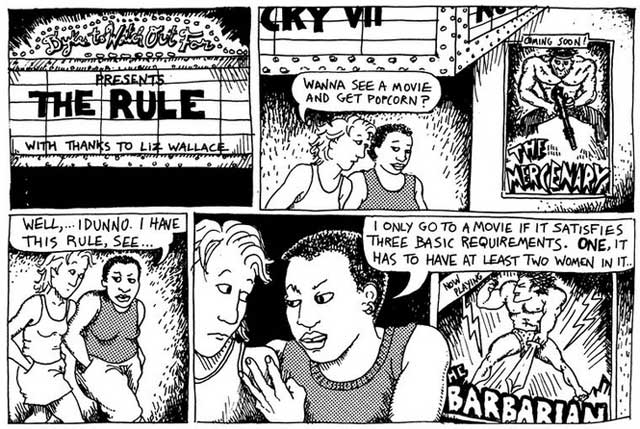 Bechdel-the-rule