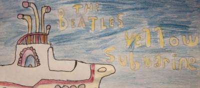 Copertine di dischi disegnate da bambini