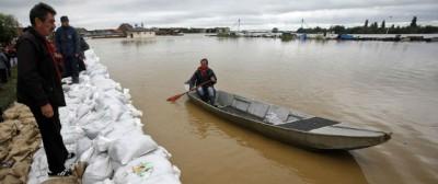La grande alluvione nei Balcani