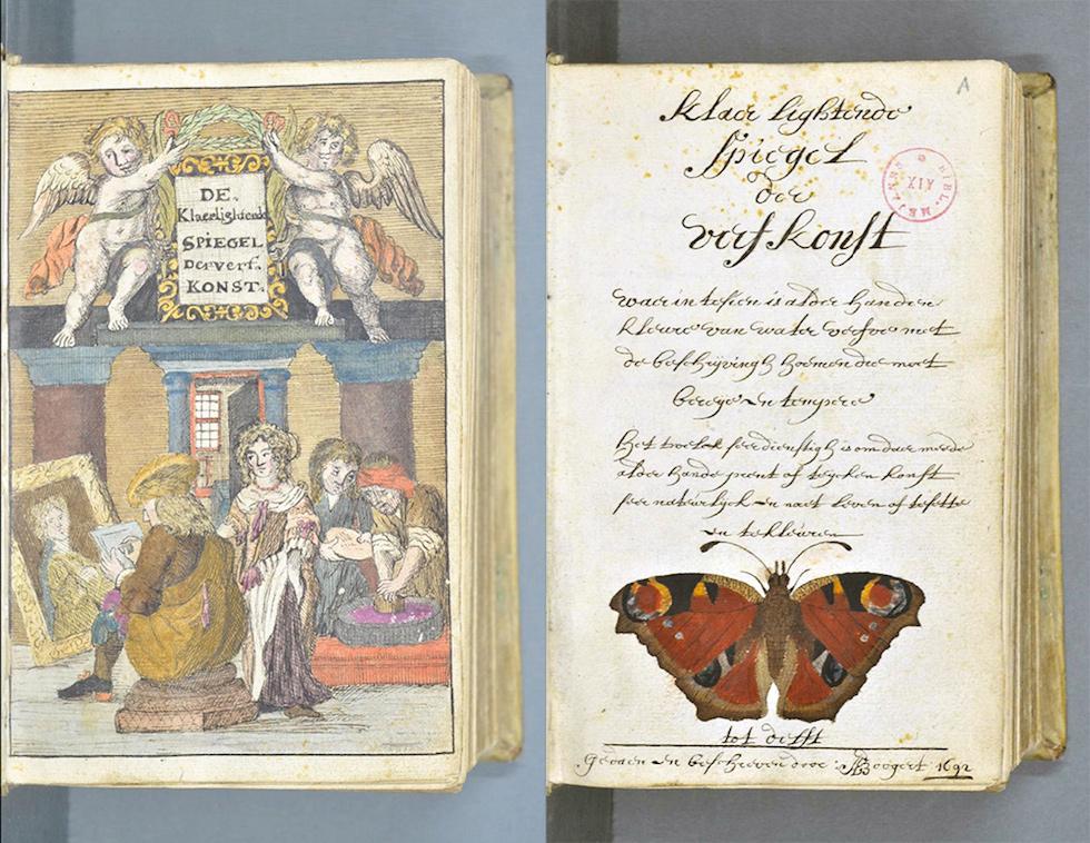 Il libro dei colori del 1692 foto il post - Libro immagini a colori ...