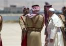 Comincia la visita del Papa in Medio Oriente