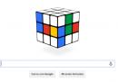 Il Cubo di Rubik nel doodle di Google
