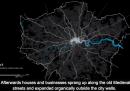 Com'è cresciuta Londra negli ultimi 2000 anni