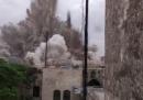Il video dell'esplosione al Carlton Citadel Hotel di Aleppo, vicino alla Cittadella patrimonio dell'UNESCO