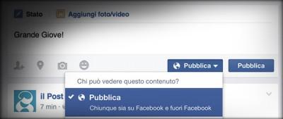 Facebook rinuncia alla sua impostazione predefinita più discussa