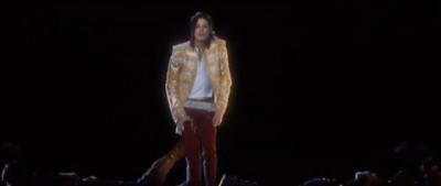 L'ologramma di Michael Jackson ai BMA