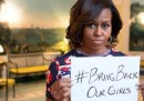 Michelle Obama e le ragazze rapite in Nigeria