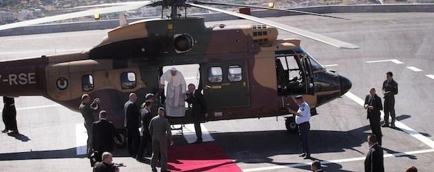 Elicottero Del Papa : Le foto del papa a betlemme il post