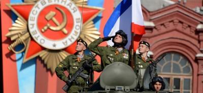 Le foto della più grande parata militare russa