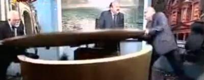 I due giornalisti che smattano in tv in Giordania