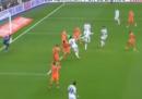 L'incredibile gol di suola di Cristiano Ronaldo