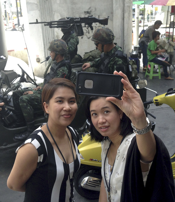 Legge marziale in Thailandia