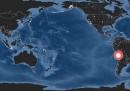 I terremoti del 2014 in un video
