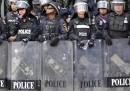 Le proteste contro il governo a Bangkok