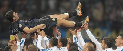 Le foto dell'ultima partita di Javier Zanetti a San Siro