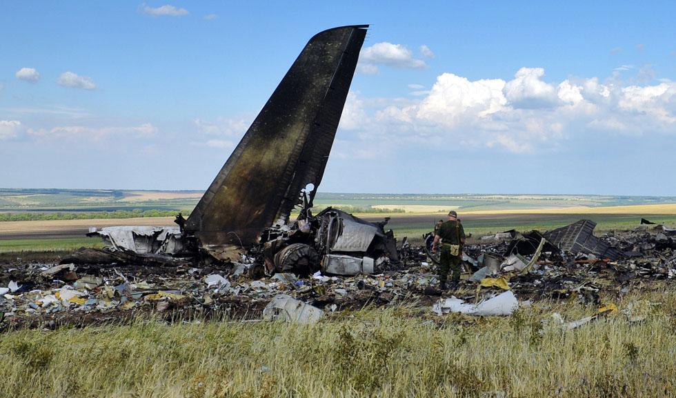 foto aereo abbattuto ucraina russia