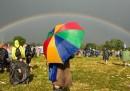 Le foto di ieri a Glastonbury