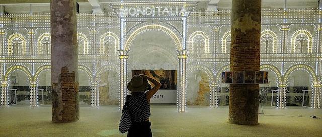 Le foto della mostra di architettura della biennale di for Biennale di architettura di venezia