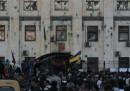 L'assalto all'ambasciata russa di Kiev