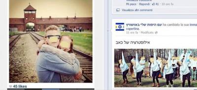 I selfie ad Auschwitz