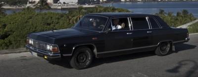 Le vecchie limousine presidenziali usate come taxi, a Cuba