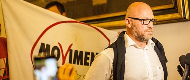 Il nuovo sindaco di Livorno, Filippo Nogarin
