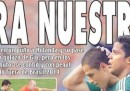 Le prime pagine dei giornali messicani