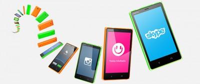 Il nuovo Nokia X2 di Microsoft con Android
