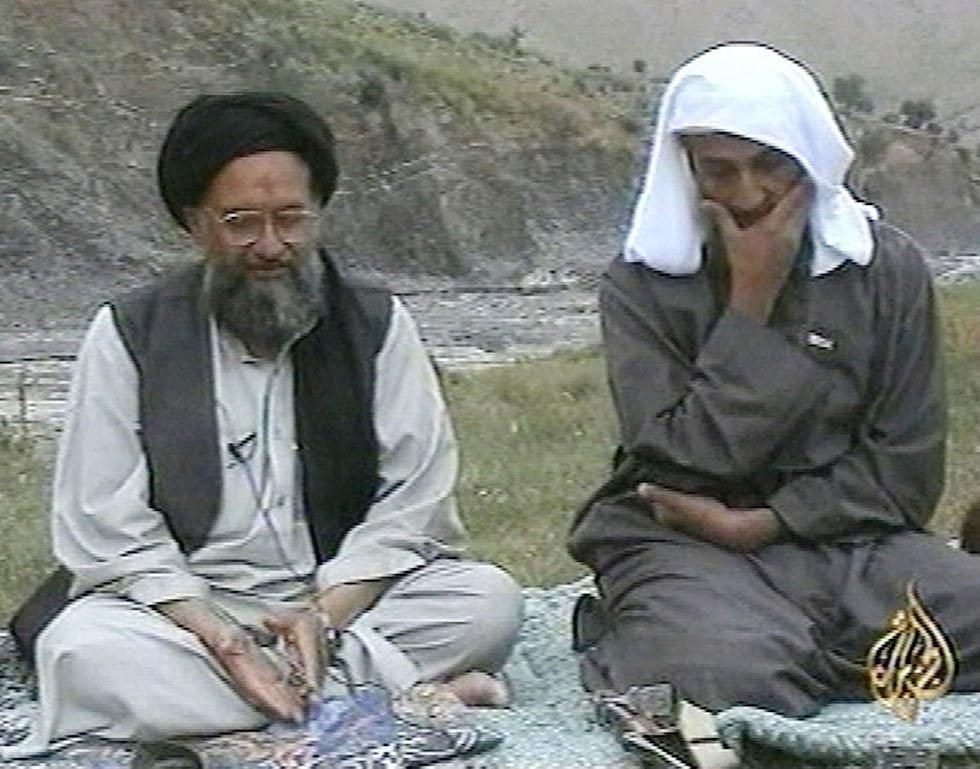 Bin Laden e Zawahiri
