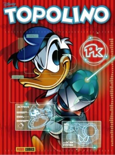 Il ritorno di PK, su Topolino