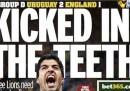 Le prime pagine inglesi di oggi
