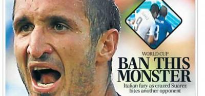 Le prime pagine internazionali su Suarez e l'Uruguay