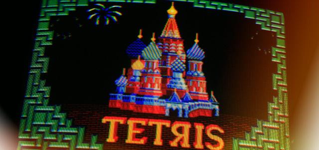 tetris originale russo