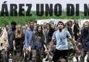 La pubblicità di <em>The walking dead</em> con Suarez