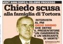 L'ex magistrato Marmo: «Chiedo scusa alla famiglia di Enzo Tortora per quello che ho fatto»