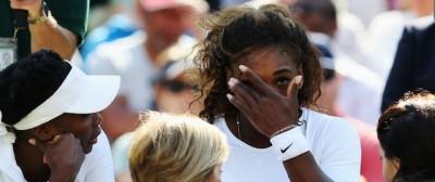 Il malanno di Serena Williams a Wimbledon