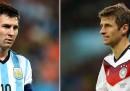 La finale della Coppa del Mondo fra Argentina e Germania